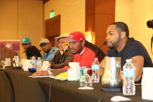 Notable panelists on the male panel included Harold House Moore, Omar Slim White, DJ Fadelf