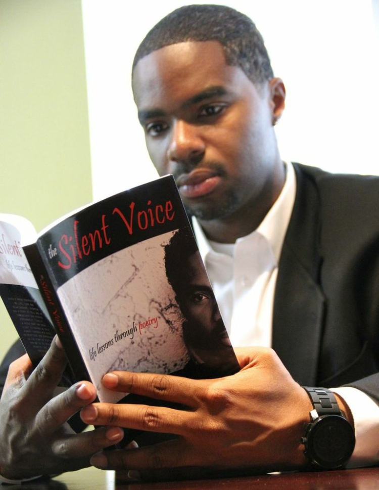 My Exclusive Interview With Author & Poet Trenell Harris On His Latest Book The Silent Voice: Life Lessons through Poetry.
