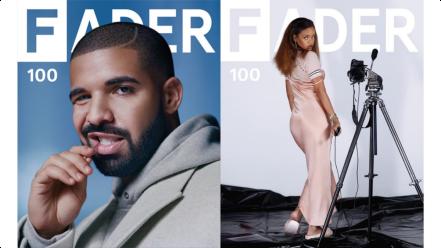 TheFaderRihanna&Drake